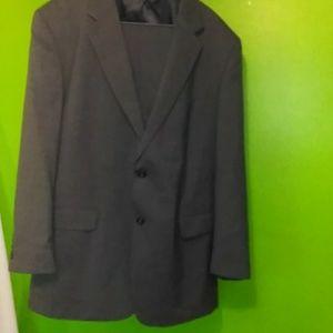 Jos.A BANK SZ:40L grey mens suit